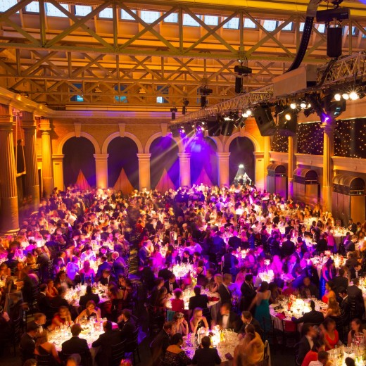 Christmas venue Christmas entertainment Banking Hall London Christmas Party Show