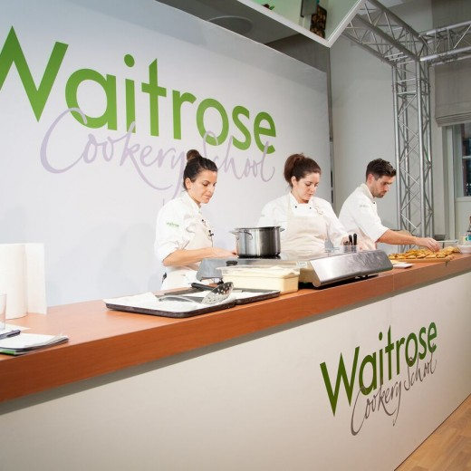 Waitrose, Drinks, Festival, events, IET, Savoy Place, London, Event Management, cookery classes, event professionals