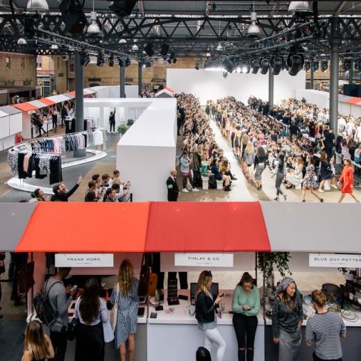 London Fashion Week, Old Spitalfields Market, london, fashion, events, topshop