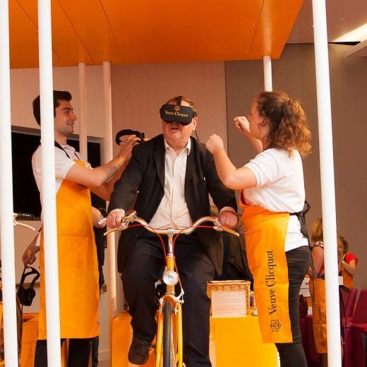 Waitrose, drinks festival, verve cliquot, virtual reality, experience