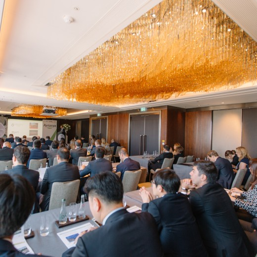 AVRASYA TUNELI, events, The Shangri-la Shard, conference, internal meeting, international, london, classroom style, food and beverage, display, layout, event porfessionals, corporate
