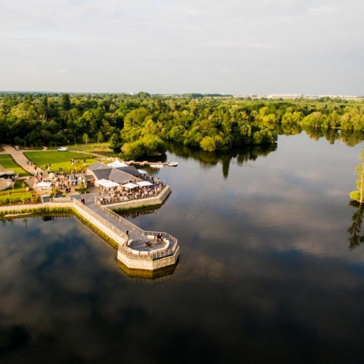 Amber Lakes, The Lodge, events, conference, cabins, lakes, water, greenery, fields, events, outside, london
