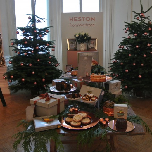 Waitrose, Christmas Press Launch, ingredients, table, one belgravia, venue, london, events, products, high street , heston