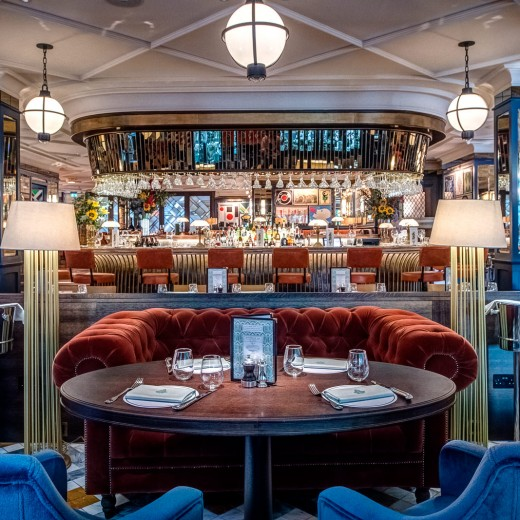 The Ivy Soho Brasserie, ivy, soho, london, events, venue, restaurant, private dining, room, chairs, table, luxury, high end, brand, chain, bar