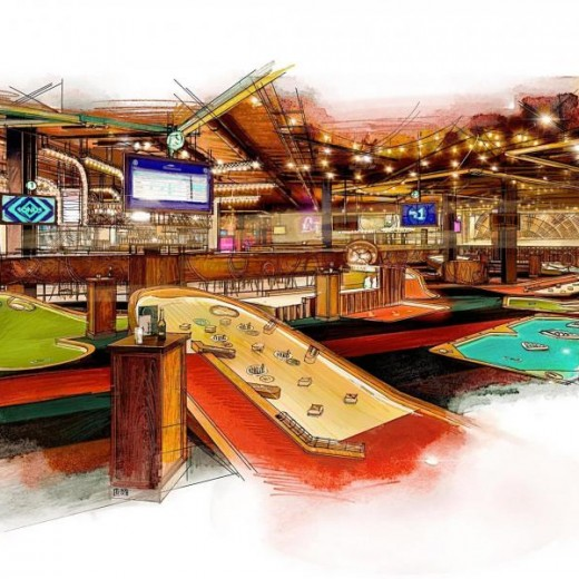 Puttshack, london, westfields, west london, events, golf, technology, bar, food, night out, new opening, 2018, expansion, interactive, updated, coming soon