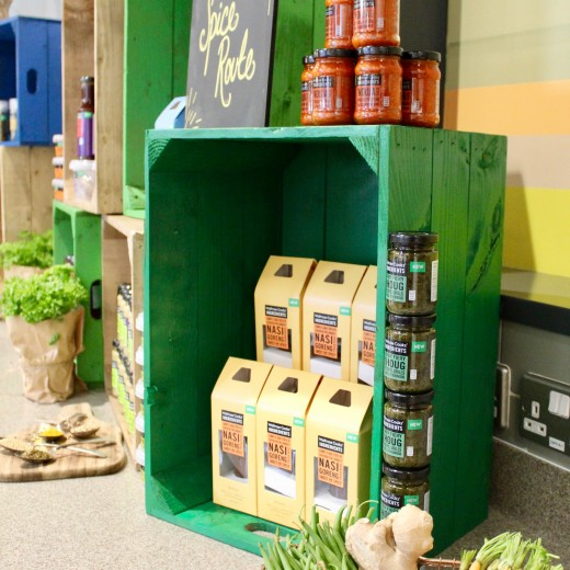 Farmer's Market, Rustic, Waitrose, September, Launch, Product Launch, Creative, Theming, Crates, Boxes, Products, Events, Logistics, Management, events themes