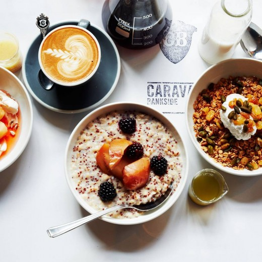 The Best Breakfast Spots, Caravan, London, food, beverage, events, meetings, party planner