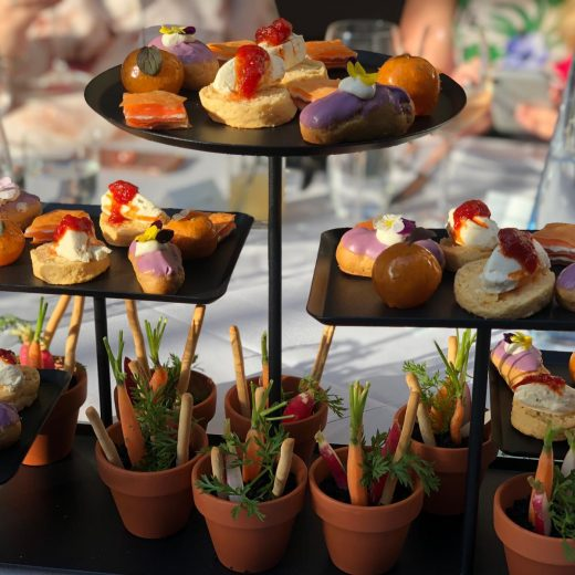 quirky catering for large corporate event